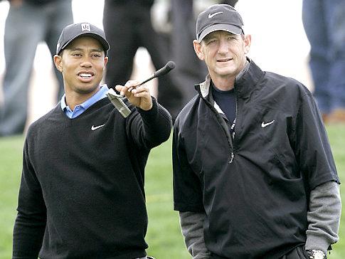 tiger woods swinging. as Tiger Woods#39; swing