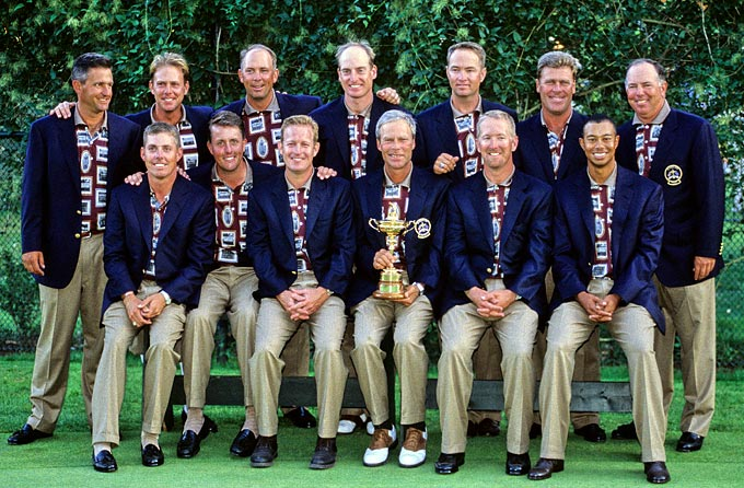 2012 Winning Ryder Cup Team The Winning 1999 Ryder Cup