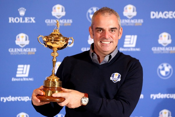 McGinley Ryder Cup