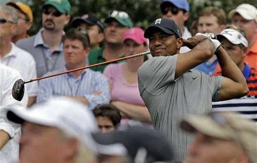 Tiger rd 1 2013 Masters