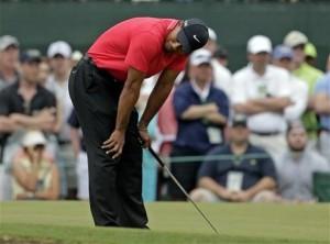 Tiger slumped 2013 Masters 4rd
