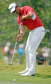 Adam Scott putting