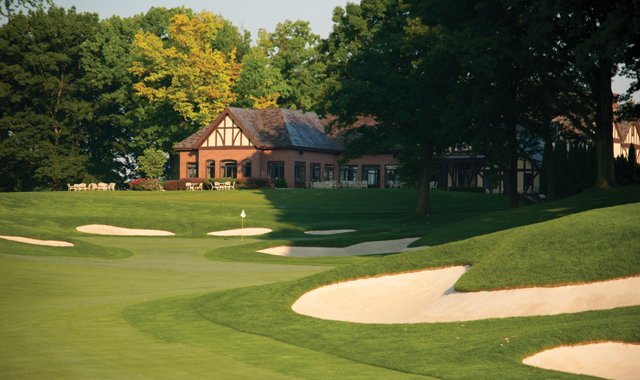 Oak Hill's 18th Hole