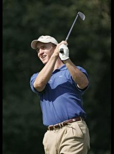 Peyton Golfing