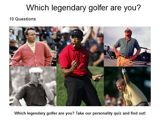 legendary golfers