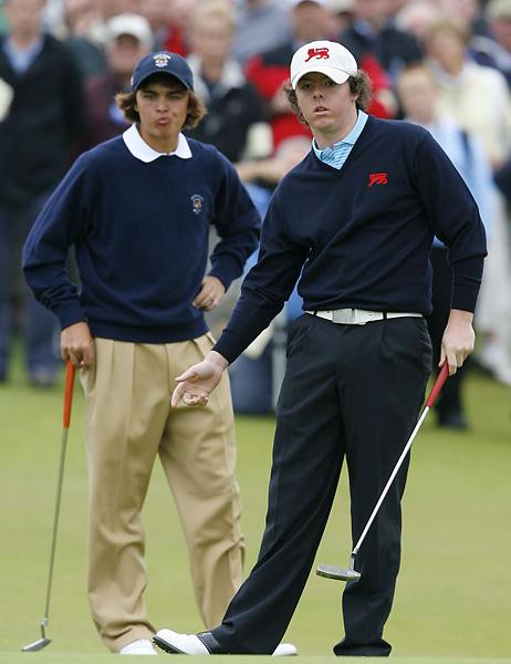 rory and rickie walker cup 07