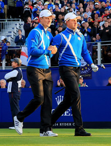rose and Stenson ryder cup