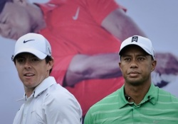 GOLF-CHN-WOODS-MCILROY