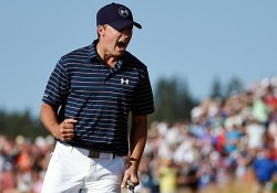 spieth us open fist